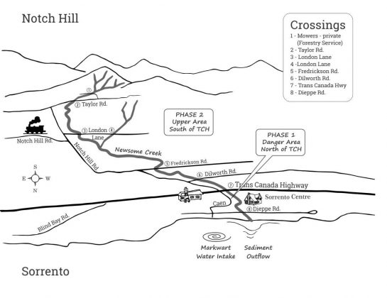 Sorrento-Notch-Hill-Map